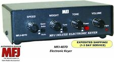 MFJ 407D - Deluxe MFJ Curtis Electronic CW Keyer All keyer Modes Dot-Dash Memory