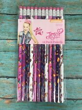JoJo Siwa 12 pack No. 2 Pencils - school supplies, New & sealed - Nickelodeon