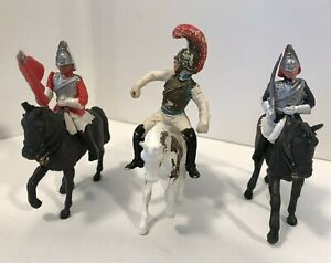 Vintage Britains British Horse Mounted Guards Soldiers - England