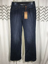 JAG Low Rise Boot Size 6 Denim Jeans Bootcut Leg Dark Wash NEW NWT Stretch USA