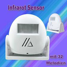 Infrarot Sensor Bewegungsmelder Durchgangsmelder Türgong Gong Bewegungssensor
