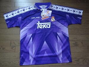 Real Madrid 100% Original Jersey Shirt 1995/96 Away Kelme BNWT NEW [797]