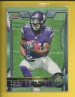 Stefon Diggs RC  2015 Topps Chrome Rookie Card # 148 Minnesota Vikings WR