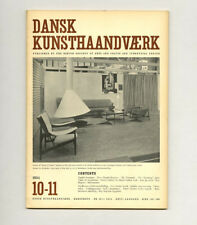 1954 Danish DESIGN Dansk Kunsthåndværk Poul KJÆRHOLM Ingeborg LUNDIN Quistgaard