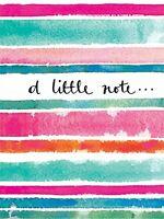 Rachel Ellen Designs - Mini Notecards - Little Note - Painted Stripes(Pack of 5)