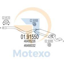 MTS 01.91550 Exhaust FIAT Cinquecento 1.1ie Sporting 54bhp 10/94 - 12/98