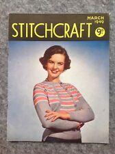 Stitchcraft Magazine March 1949