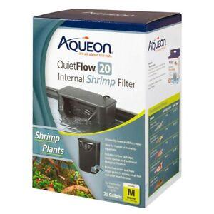 Aqueon QuietFlow Internal Shrimp Aquarium Filter    Free Shipping