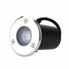 1W LED Outdoor Exterior Buried Spot Light Fixture Underground Flood Lamp IP65