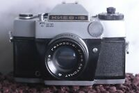 KIEV-15 TEE SLR vintage Russian camera with Lens Helios 81 50mm f.20