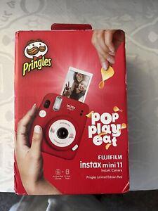 Fujifilm Instax Mini 11 Camera - Pringles Limited Red Edition, sealed, BNIB