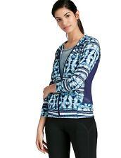 Lucky Brand - Womens L - NWT $99 - Batik Tye Dye Full Zip Hoodie Active Jacket