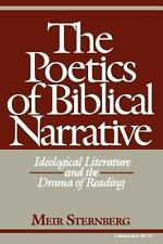 The Poetics of Biblical Narrative: Ideological Literature and the Drama of