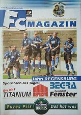 Programm 2002/03 1. FC Saarbrücken - Jahn Regensburg