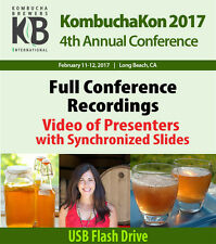 KombuchaKon 2017 Annual Conference - Video Recordings with Synchronized Slides