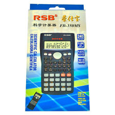 2x Scientific Calculator 350MS with cover. Approved for students school & office