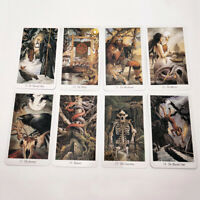 Full English Prisma Vision Tarot Cards Deck 78Pcs Mysterious Animal Tarot Cards