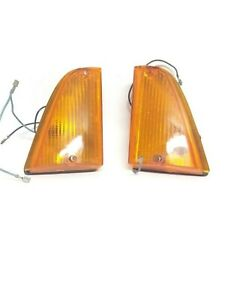 Lights Mini 90, 120 Orange Pair of Indicators Front SIEM Original