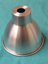 Hand Spun Aluminium Lampshade *Individually Hand Made*