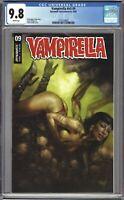 Vampirella v5 #9 CGC 9.8 Parrillo TRADE Cover