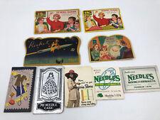 Vintage Needles Books Sewing Susan Pico Rocket Virginia Slims Advertisement