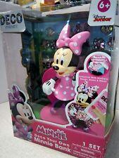 Disney Deco Frenzy Minnie Deco Your Own Bank