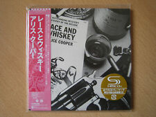 "Alice Cooper ""Lace And Whiskey""  Japan mini LP SHM CD"