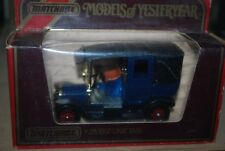 Matchbox Models of Yesteryear Y-28 UNIC TAXI 1907 Rare Blue Colour