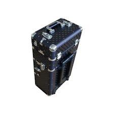 Kosmetikkoffer Beauty Case Schminkkoffer Trolley Schmuckkoffer TC009 BLACK 3D