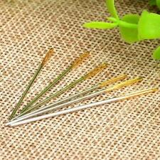 Sewing Stitching Eye Large Needles Leather Canvas Craft Hand Tool Embroidery 6pc