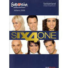 CD EUROVISION 2006 Suisse : Six4one	If we all give a little PRESS kit  + RARE +
