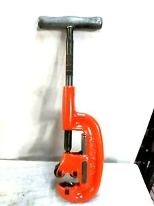 """RIDGID MODEL 2A HEAVY DUTY PIPE CUTTER 1/8"""" TO 2"""" CAPACITY [ VERY CLEAN ]"""