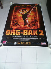 AFFICHE ONG BAK 2 4x6 ft Bus Shelter D/S Movie Poster Original 2008