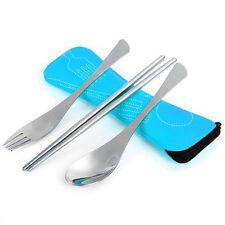 Nuevo 3 Piezas Acero Inoxidable Para servir Tenedor y Cuchara