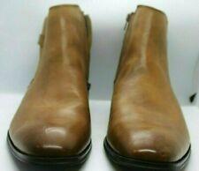 La Milano Men's Tan Leather Boots Size 13D