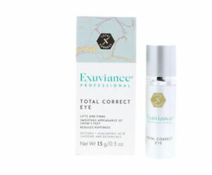 Exuviance Total Correct Eye 15g 0.5oz Made in US #ntcs