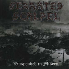 Serrated Scalpel ‎– Suspended In Misery CD (Selfrel., 2002) canad. Death Metal