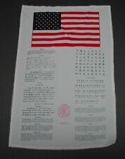 VIETNAM WAR ERA BLOOD CHIT 10 X 13 SILK LIKE USAF US NAVY ARMY USMC Patch Image