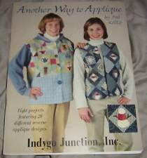 "'ANOTHER WAY TO APPLIQUE"" BY PAT KOLTZ, retro craft book from 1999 ( #m63)"