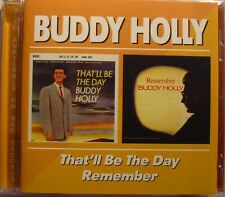 BUDDY HOLLY (CD)  That'll be the day   Remember