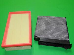 Innenraumfilter / Aktivkohle Pollenfilter + Luftfilter Renault Clio III