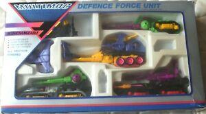 Vintage Multimac Defence Force Unit -  4 Interchangeable Friction Units - RARE
