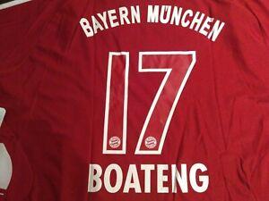NEW ! Org. Adidas Bayern München Boateng Trikot Heim 07/08
