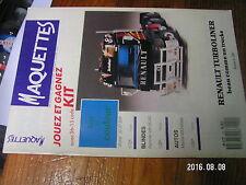 1µ?a Revue Maquettes n°22 Renault Turboliner Hummer & M242 Mazda MX5 Miata STUKA