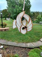 🕊️ Tiffany Leaded Glass Window Ornament / The Dove of Peace