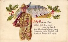 CHRISTMAS CHEER (for a soldier) WHEN YULE-LOGS BURN UPON THE HEARTH