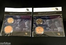 2 SETS ELLEN + EDITH WILSON 2013 FIRST SPOUSE MEDALS Presidential Coin w WOODROW