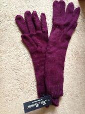 pia Rossini -Angela gloves - long gloves. cassis. bnwt