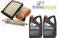 Engine Filter Service Kit 10L 5W-30 Oil for Land Rover Freelander TD4 02-06
