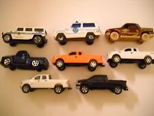 Mixed Lot of Toy Pick Ups Utility Vehicles x 8
